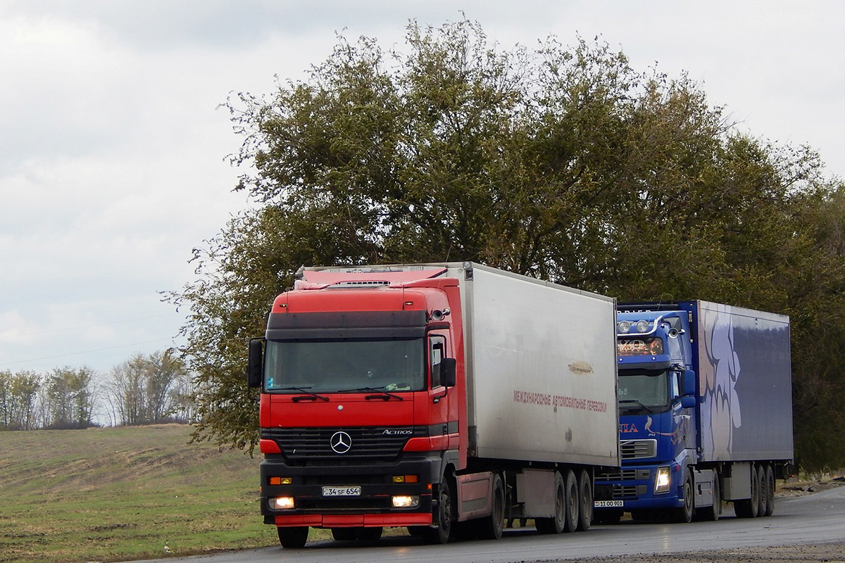 Армения, № 34 SF 654 — Mercedes-Benz Actros ('1997)