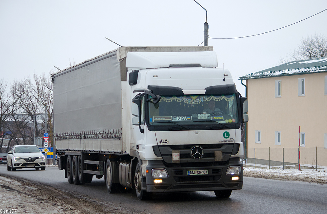 Словения, № NM CR-103 — Mercedes-Benz Actros ('2009) 1841